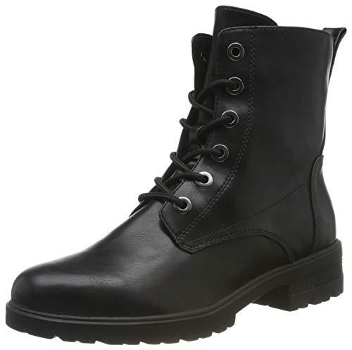 Tamaris Damen 1-1-25280-23 Combat Boots, Schwarz (Black Matt 20), 39 EU