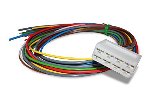 M+S Kabelsatz für Warnblinkanlage 6 Volt mit PLUS an Masse, Stecker für Warnblinkrelais, Blinkgeber Anschlusskabel für Fahrzeuge mit 6V Bordnetz, Nachrüst-Warnblinkanlage Oldtimer-Zubehör & Kfz-Teile