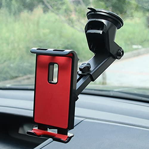 Dingyue Soporte de teléfono de coche de la tableta 360 grados ajustable móvil ventosa soporte universal del teléfono