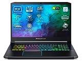 Acer Predator Helios 300 PH317-53 - Ordenador Portátil de 17,3' FHD con Procesador Intel Core i7-9750H, RAM de 16GB, SSD de 1TB, NVIDIA GeForce RTX 2070, Sin SO, Negro- Teclado QWERTY Español