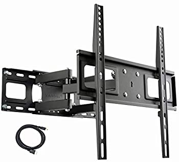 VideoSecu MW340B2 TV Wall Mount Bracket for Most 32-65 Inch LED LCD OLED and Plasma Flat Screen TV with Full Motion Tilt Swivel Articulating Dual Arms 14  Extend up to VESA 400x400mm,100 LBS WR9