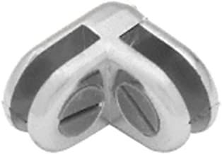 C.R. LAURENCE ZLC2CH CRL Chrome Two-Way 90 Degree Display Connector