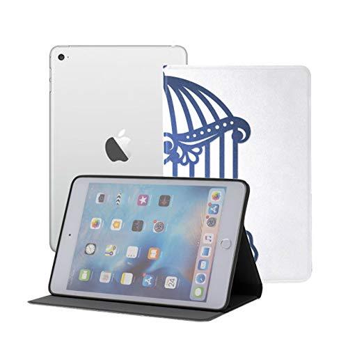 Ipad Mini Protective Case Hanging Birdcage Ivy Knitted Ipad Mini Cute Case Ipad Mini 1/2/3 Auto Sleep/wake With Multi-angle Viewing For Ipad Mini 3/ Mini 2/ Mini 1