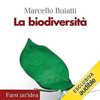 La biodiversità copertina