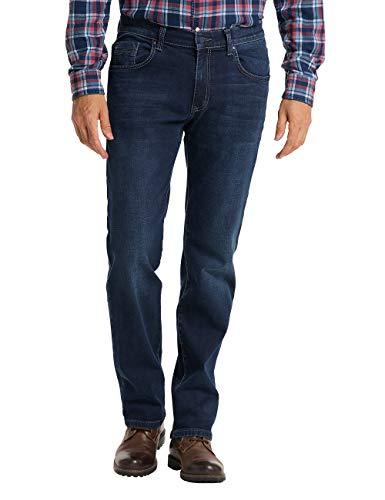 Pioneer Herren Rando Jeans, Dark Used with Buffies, 40W / 30L