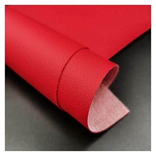 Es ist der Bogenherstellung Künstliches Ledergewebe Weiches Kunstleder für Nähbeutel Kleidung Sofa Auto DIY Handgemachtes Material 20x15cm Feste Farbe Lederbleche zum Handwerk (Color : 10)