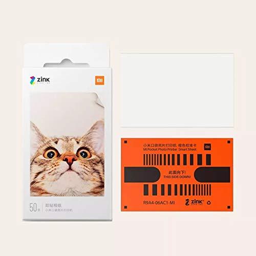 Xiaomi Mijia AR - Impresora portátil de 300 ppp para fotos, mini bolsillo con uso compartido de 500...