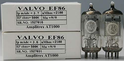 Buy 1MP EF86 Mesh Plate VALVO Made in Holland Amplitrex Tested #1527016&31