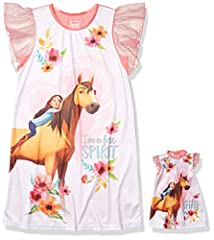 SPIRIT: Let your mane down and ride into the adventures of your dreams with these Spirit pjs! Imagine all there is to learn and encounter when we have a little courage like this young stallion and his friend Lucky! Officially licensed Dreamworks prod...