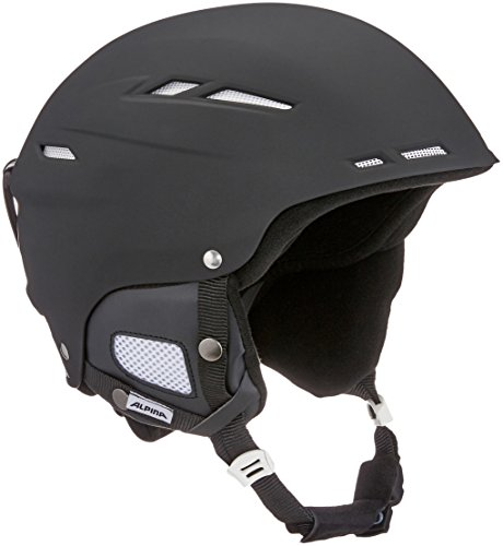 ALPINA Biom Skihelm, Black Matt, 54-58 cm
