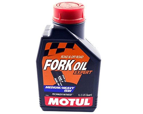Gabelöl MOTUL Dämpfungsöl 15W 1Liter Fork Oil Öl Motorrad TS Expert Medium Heavy