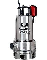 T.I.P. 30116 dompelpomp voor vuilwater, Maxima 300 SX roestvrij staal, tot 18.000 l/h debiet bundel