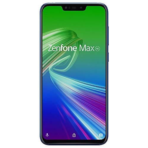 ASUS TeK ZB633KL-BL64S4 ZenFone Max (M2) ストレージ64GB Ver (6.3インチ/Android8.1/大容量4000mAhバッテリー搭載) スペースブルー