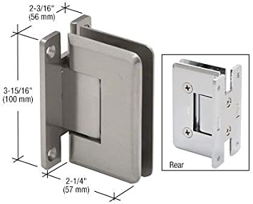 LAURENCE C0L037BSC CRL Brushed Satin Chrome Cologne 037 Series Wall Mount Hinge C.R