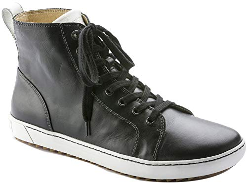 Birkenstock Women's Bartlett Black Leather Sneaker 42 (US Women's 11-11.5)