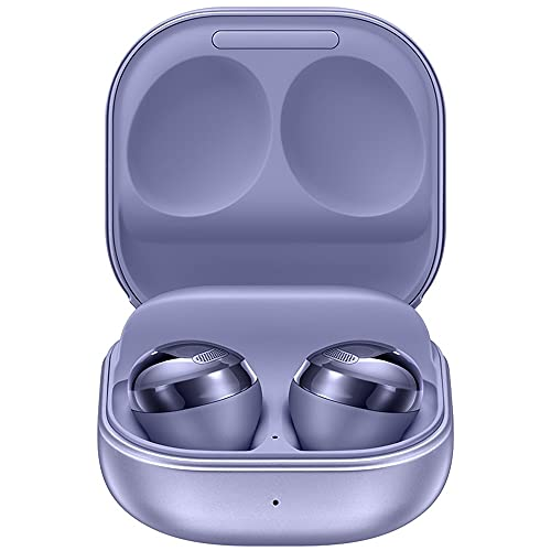 Samsung Galaxy Buds Pro, True Wireless Earbuds w/Active Noise Cancelling (Wireless Charging Case Included), Phantom Violet (International Version)
