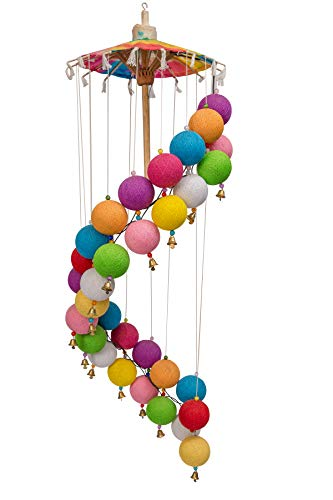 Aarihant's Retail Colourful Chandelier Jhumar Shape String Lights for Decoration