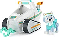 PAW Patrol Everest's Snow Plough Vehicle with Collectible Figure, for Kids Aged 3 and Up