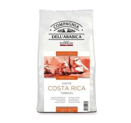 Compagnia dell'Arabica - COSTA RICA TARRAZU Café en granos - 250gr x 3 bolsas (Cantidad total: 750gr)