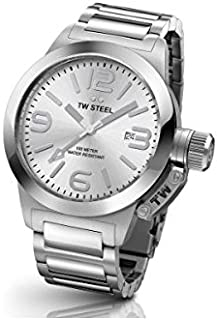 TW STEEL Watch Analog for Men, Rubber, TW304