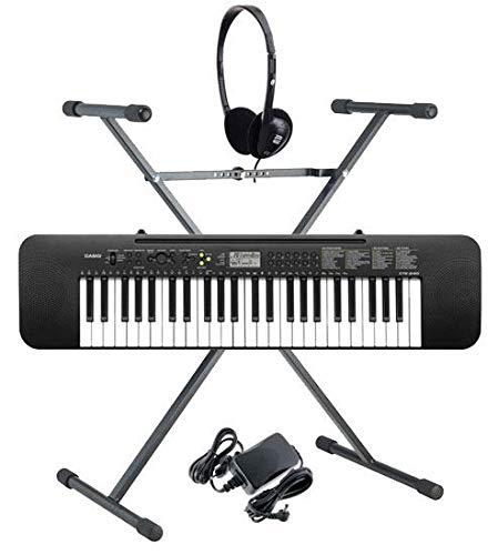 Casio CTK-240 Teclado (Incluidos alimentador, auriculares y soporte)