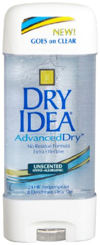 Dial 1327463 Dry Idea Unscented Clear Gel Anti-Perspirant Deodorant, 3oz Size (Pack of 12)