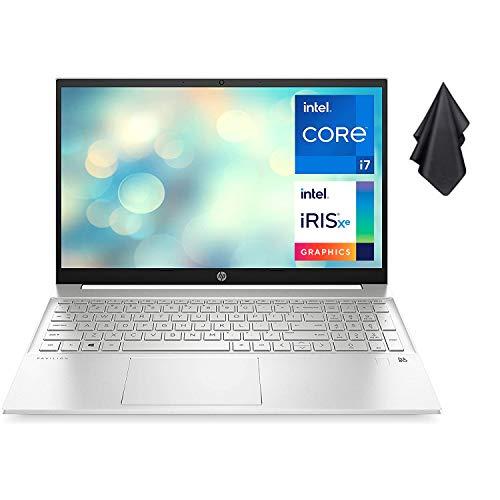 2021 Newest HP Pavilion 15.6' Laptop, FHD IPS Micro-Edge Display, Intel Core i7-1165G7...