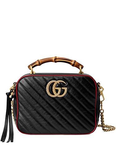 Gucci Luxury Fashion Damen 6022700OLFX8277 Schwarz Schultertasche | Frühling Sommer 20