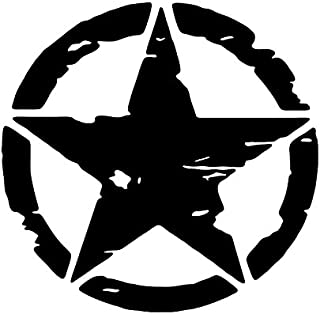 Jeep Distressed Military Willys Star Vinyl Sticker /Decal Buy 2 Get 3rd Free