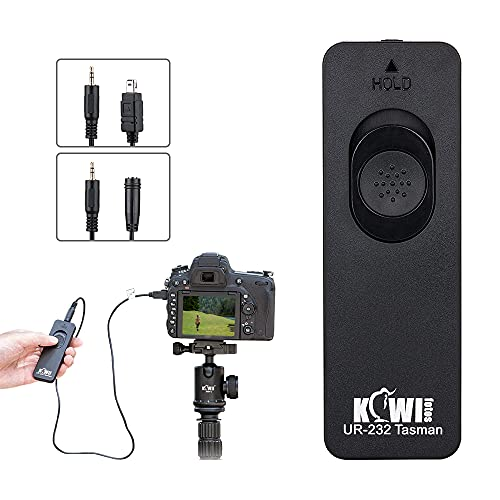 0.7m + 1.3m(Extended Cord) Remote Release Replaces MC-DC2, Shutter Release Remote Control for Nikon Z7 II Z6 II Z5 D780 D750 D600 D7500 D7200 D7100 D5600 D5500 D5300 D5200 D5100 D3300 D3200 and More