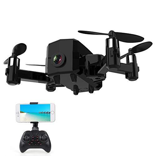 Goolsky- L102 Mini RC Drone con Cámara 480P WiFi FPV Altitude Hold RC Quadcopter para Principiantes de Entrenamiento de Regalo de Cumpleaños