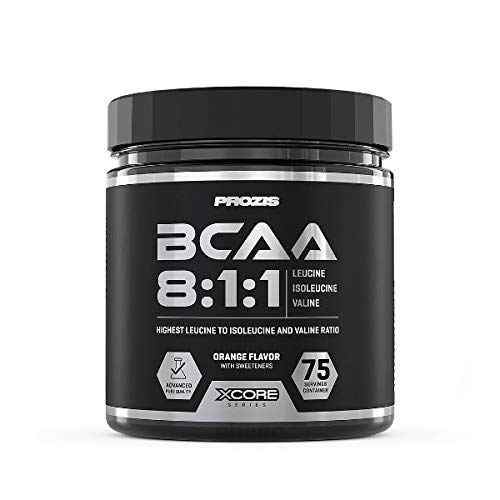 Prozis Xcore Series BCAA 8:1:1 SS - 300 gr Green Apple