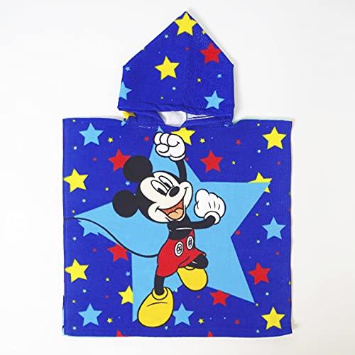10XDIEZ Poncho baño Infantil Mickey 043 | (Estampado )