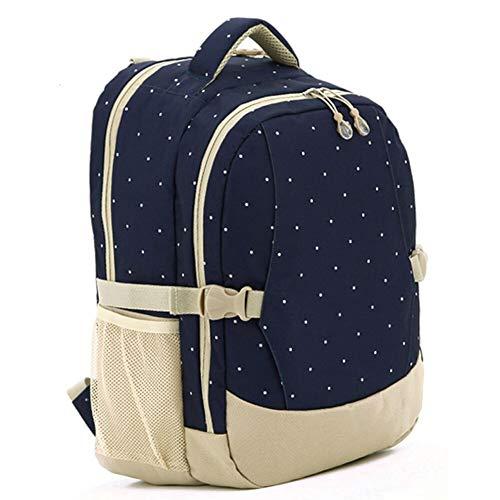 Baby Windel Wickelkommode Mutter Mama Frauen Pad Rucksack Umhängetasche Handtasche (Dunkel blau)