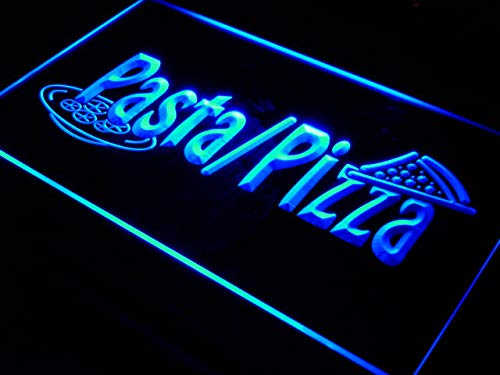 ADV PRO Enseigne Lumineuse i136-b Pizza Pasta Shop Cafe Slice Bar Neon Light Sign