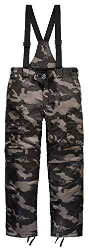Brandit Next Generation - Pantalones térmicos Forro cálido con tirantes extraíbles. Darkcamo XL