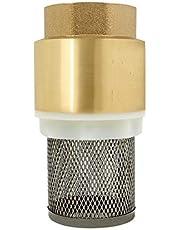 Voetklep met zuigkorf voetventiel terugslagklep voor aanzuigslang waterpomp tuinpomp hydrofoor 1/2 3/4 1 1-1/4 1-1/2 2 2-1/2 3 inch