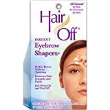HairOff Instant Eyebrow Shapers 18 Each (Pack of 5)