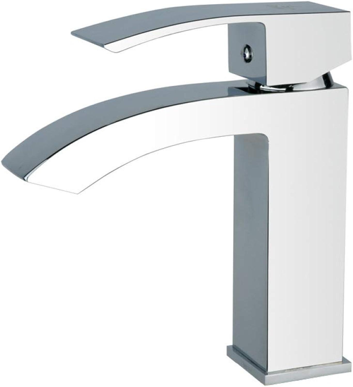 GZF Faucet basin faucet high-end basin faucet square single hole basin faucet