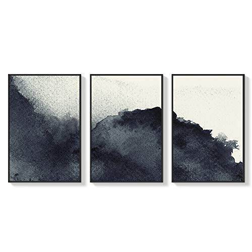 NWT Framed Canvas Wall Art for Living Room, Bedroom Abstract Zen Canvas Prints for