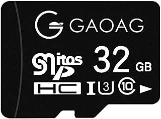 GAOAG SD メモリーカード マイクロ SDカード 32GB 超高速Class10 読取り最大100MB/s Androidスマートフォン デジカメ 超高速転送