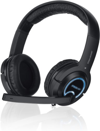SPEEDLINK INT-SL-4475-BK Gaming-Headsets, Schwarz, One Size