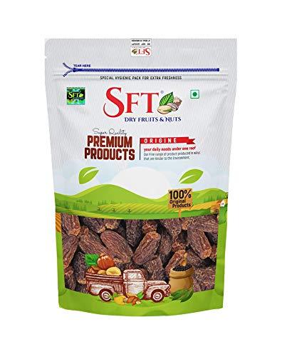 SFT Dates Dry Brown,Black/Sukha Khajoor Superior Quality (Kala Chuara) Grade- Medium Size 250Gm