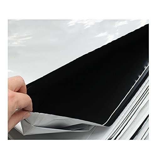 YJFENG Película De Polietileno De Cultivo En Blanco Y Negro, Película Reflectante De Invernadero para Plantas, Resistente A La Luz Aislamiento Térmico Impermeable Hoja De Partición