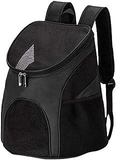 MAOSHE Pet Bag, Pet Dog Cat Backpack Travel Cat Carrier Double Shoulder Bag Space Capsule Cat Backpack for Bag Small Pet H...
