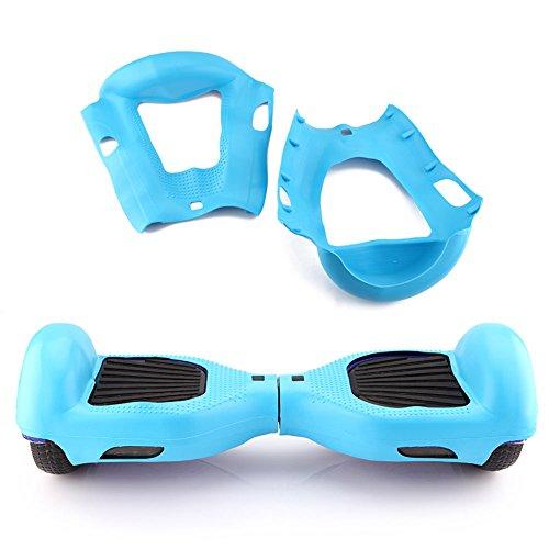 Cuasting Funda de silicona azul cielo 6.5 pulgadas 2 ruedas Smart Self Balancing Scooter Shell