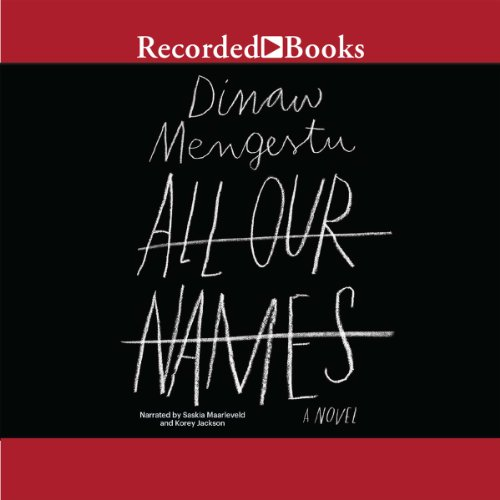 All Our Names audiobook cover art