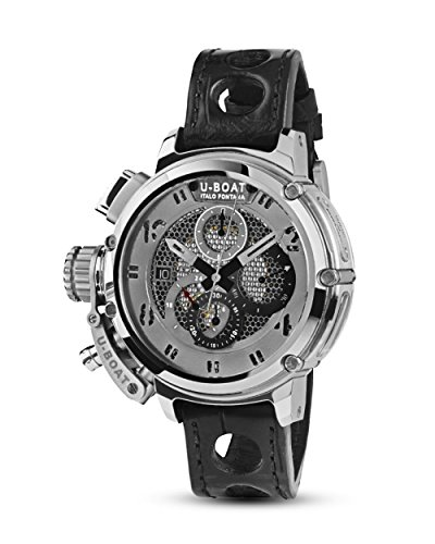 Reloj Automático U-Boat Chimera, Tungsteno, 46mm, Edición Limitada, 8065