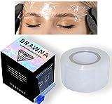 BRAWNA [ 1300 ft ] Superior Preservative Film - Plastic Wrap For Microblading, Lip Blush Tattoo, Eyebrow Lamination & Lash Lift - PMU Supplies – Microblading Kit 1pack