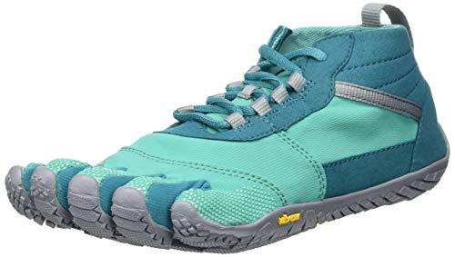 Vibram 19W7403 V-Trek Teal/Grey, Zapatillas para Mujer, Blue, 39 EU